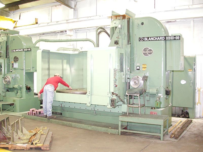 Large Part Blanchard Grinding
