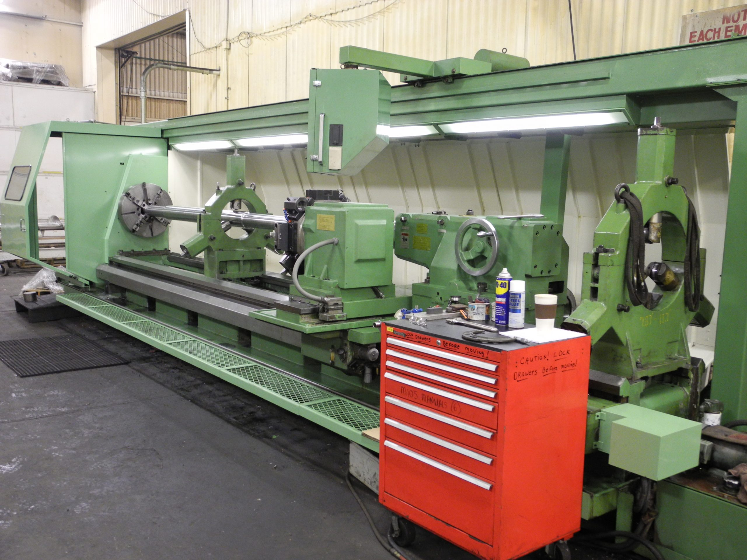 Large Part CNC Lathe