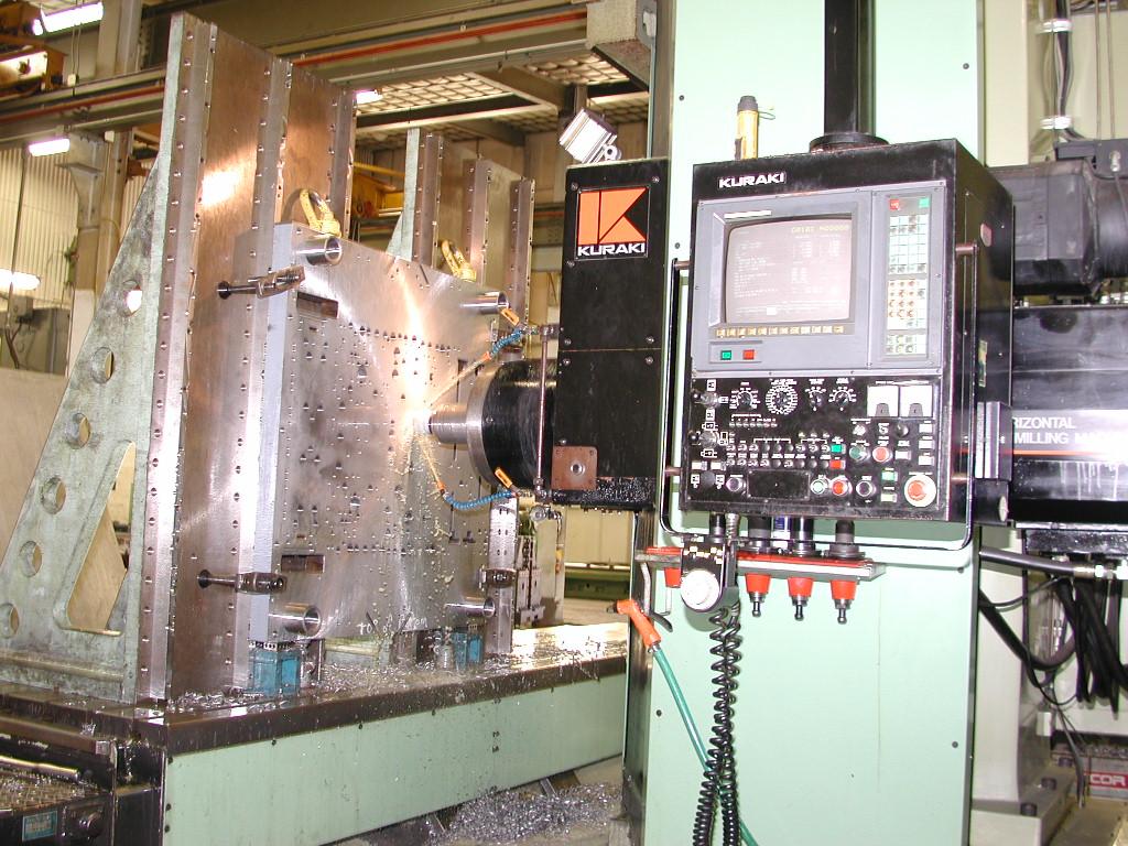 Horizontal CNC Milling