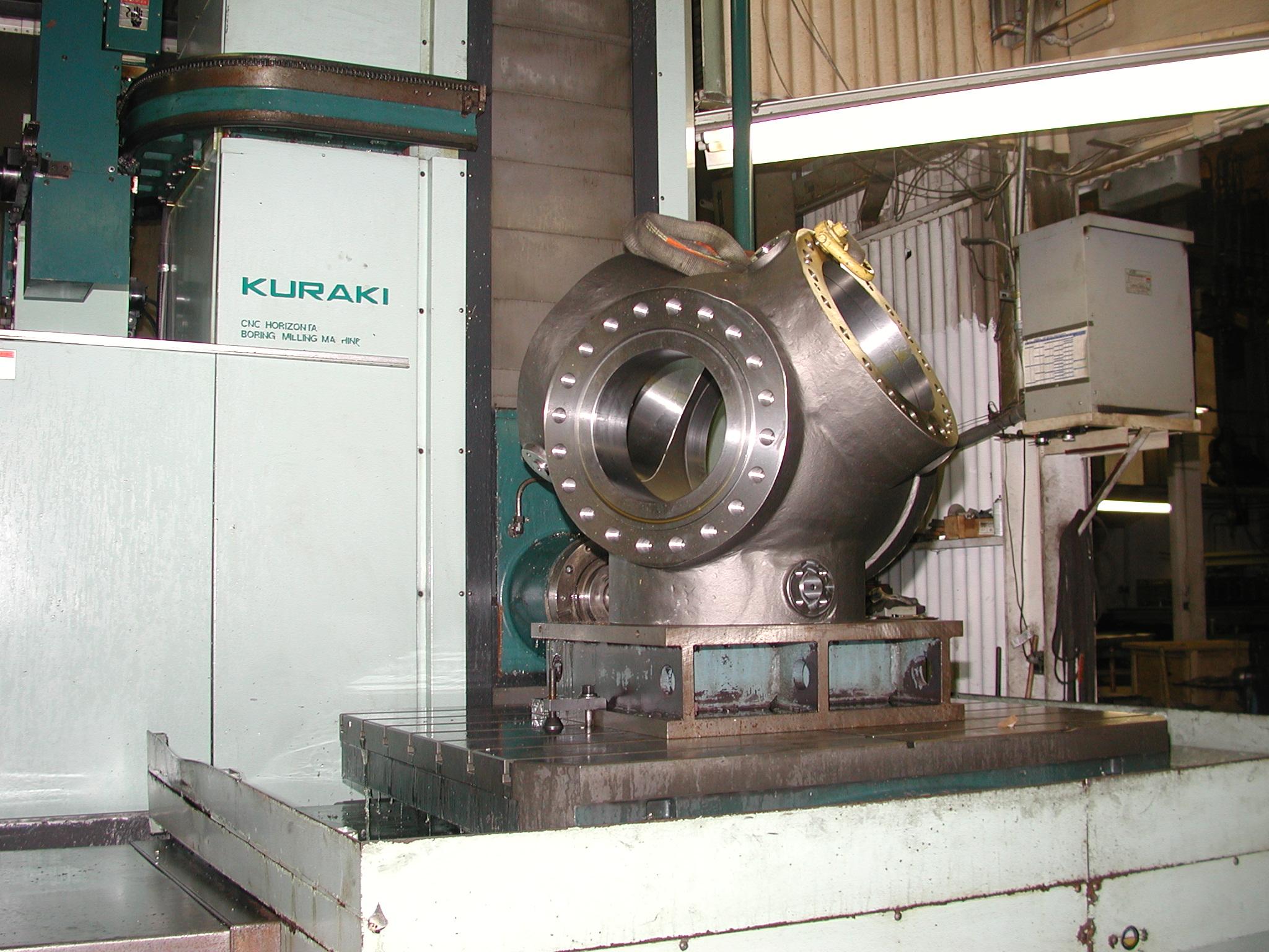 Large Part CNC Milling
