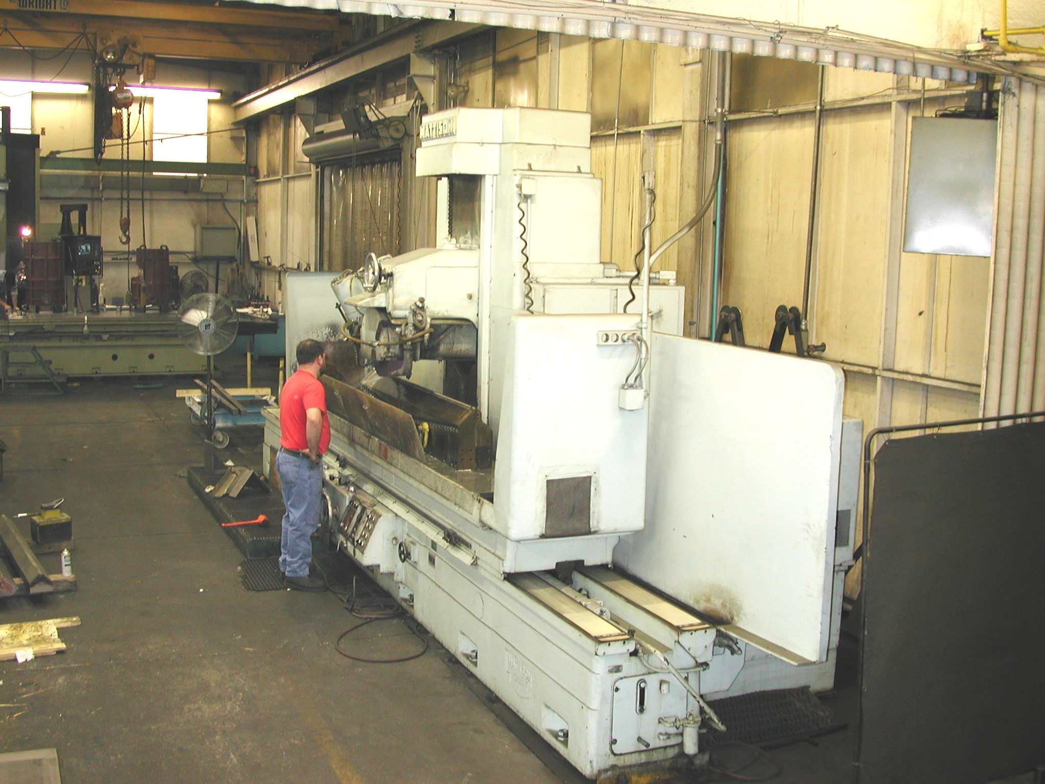 Mattison precision surface grinding