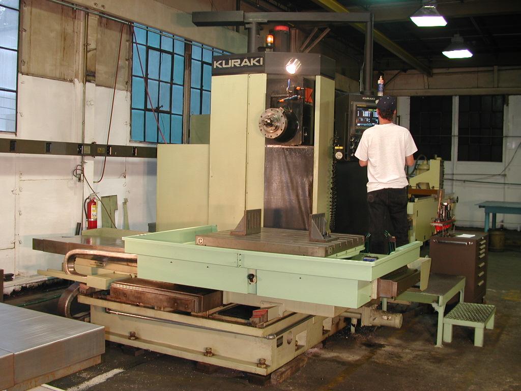 CNC Horizontal Milling & Boring
